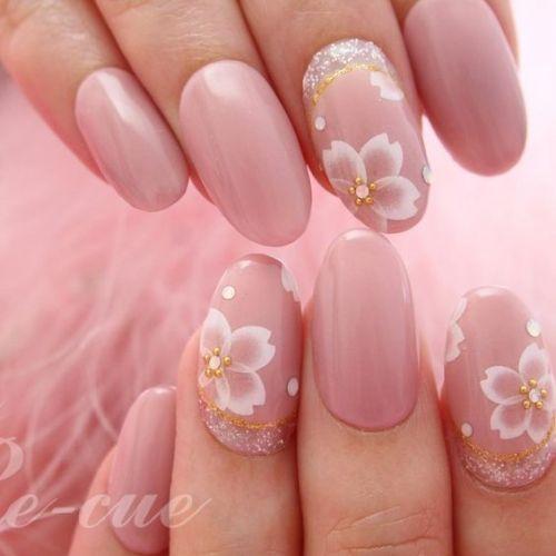 お花見の季節が待ち通しい♡一足先に満開の桜を指先に!《桜ネイル》バリエーションのサムネイル画像