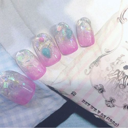 初心者さん〜サロン用まで♡《初夏の涼しげパステルカラーネイル》のサムネイル画像